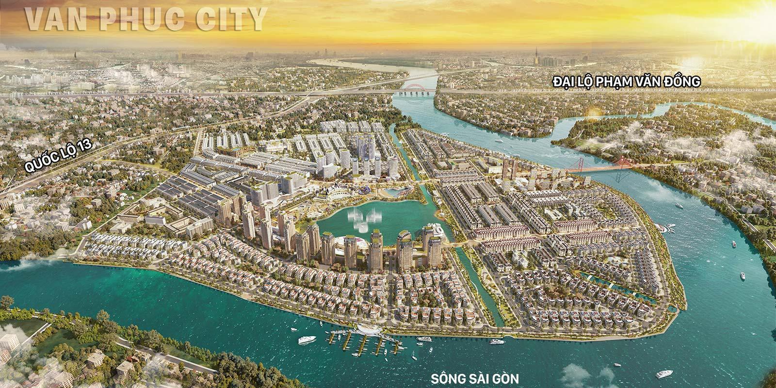 Khu đô thị Vạn Phúc City