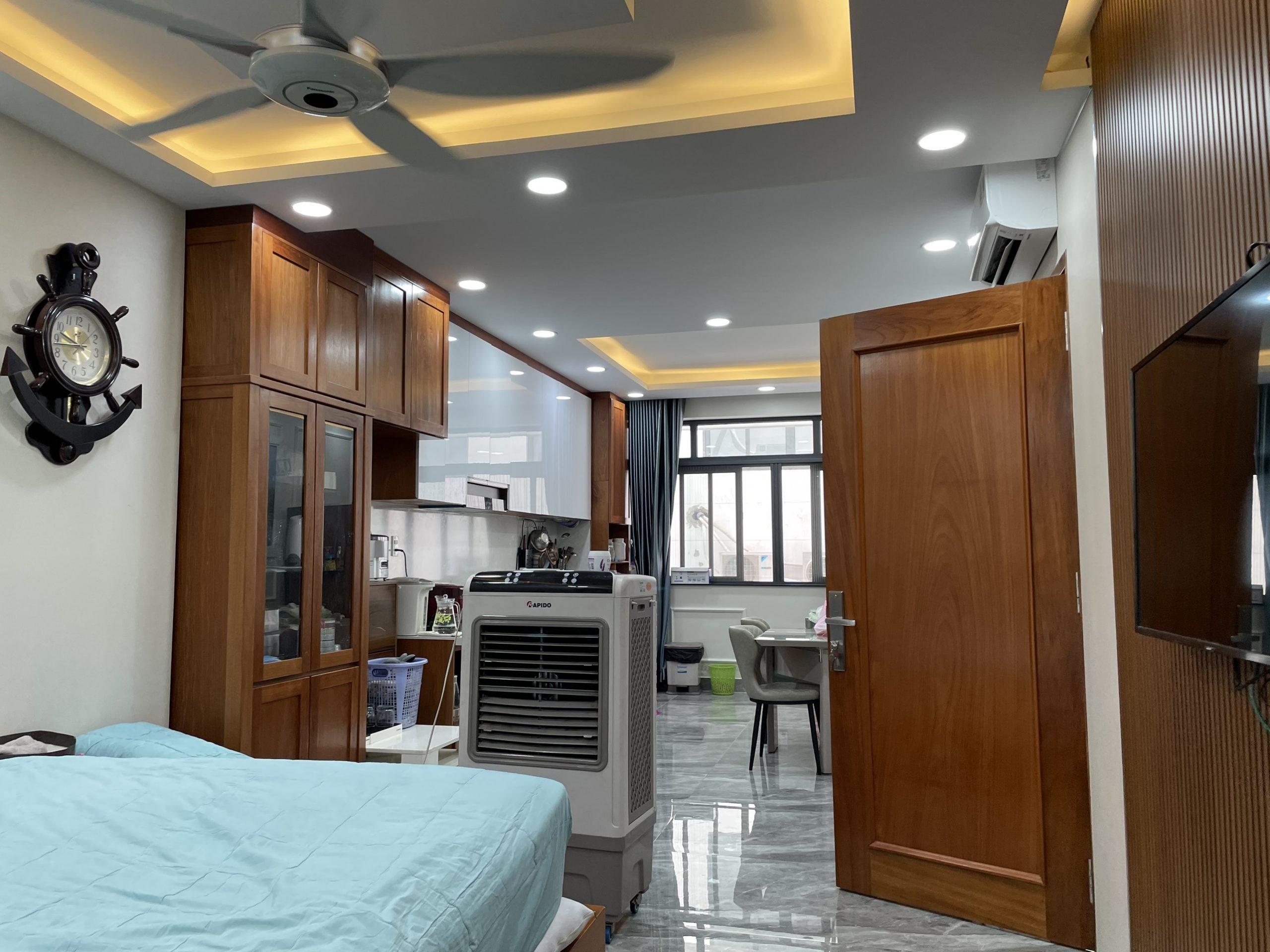 Cho thuê căn hộ 110m2 đầy đủ nội thất cao cấp  đường Nguyễn Thị Nhung