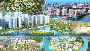 Các khu đô thị tại thành phố Hồ Chí Minh luôn khiến chúng ta phải trầm trồ trước những gì nó có.